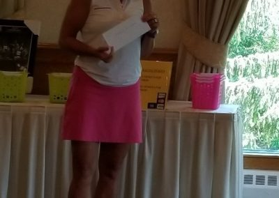 Cheryl Popp closest to the pin